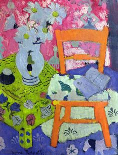 Anne Redpath (Scotland,1895-1965) Still Life, Orange Chair