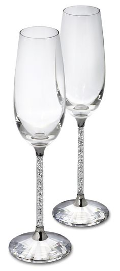 @Swarovski Holiday Party Style: Crystalline Toasting Flutes #Moments2Give