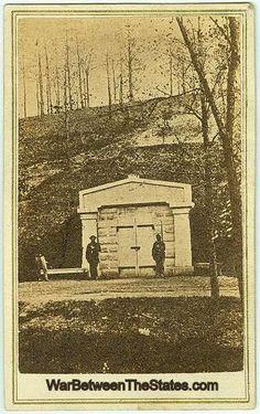 CDV Lincoln Tomb, Oak Ridge Cemetery, Springfield, Illinois