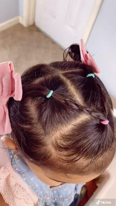 Hairstyle For Baby Girl, Toddler Girls Hairstyles, Hairstyles For Toddlers, Infant Hairstyles, Toddler Hair Dos, Mixed Baby Hairstyles, Childrens Hairstyles, Easy Little Girl Hairstyles, Girl Hair Dos