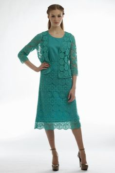 Lace Cardigan, Camisole, and Skirt Set Style # 1295CS
