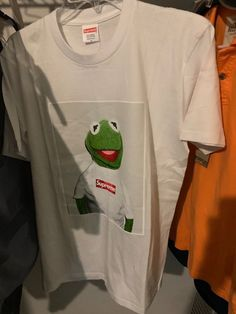 1d642acc7a18 [BRAND NEW] Supreme Kermit White Tee Medium #fashion #clothing #shoes  #accessories #mensclothing #shirts (ebay link)