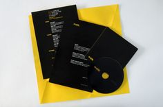 Self Promotion and Cv by Martin Zarian, via Behance