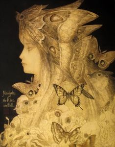 Painting by Japanese artist Masaaki Sasamoto