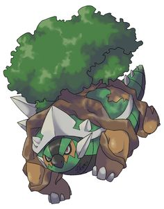 Mega Torterra by Kydeka- Pokemon Fakemon Baby Pokemon, Mega Pokemon, Cool Pokemon, Pokemon Team, Pokemon Fusion Art, Pokemon Fan Art, Pokemon Images, Pokemon Pictures, Pokemon Starters