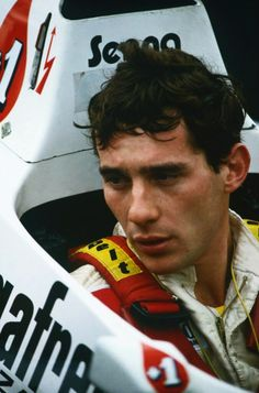 Ayrton Senna com Toleman-Hart, 1984