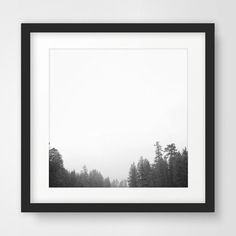Forest Photography Printable Artwork Wall by MelindaWoodDesigns #forestdecor #minimalistart