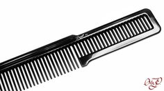 Clipper over comb when you're working at the shop or just a nice home comb. #diane #flattop #comb #clipperovercomb Stop on in at pomade.com and look at all the available grooming tools and products.