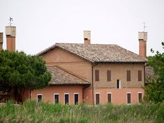 The house where Ernest Hemingway lived as tourist in the 50s - Càorle, Venice province, Veneto region, Italy