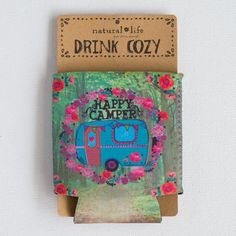 Forest Happy Camper Cozies are so fun!
