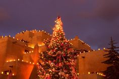 Christmas in Santa Fe, New Mexico...one of my favorite cities