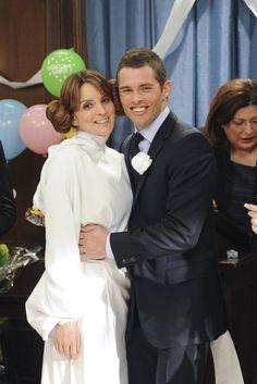 Liz Lemon's Wedding Pictures on 30 Rock