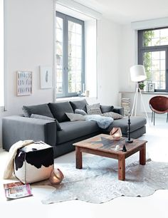 Marokkanische wohnzimmer einrichtung mit greller wandfarbe zuk nftige projekte pinterest - Rauchblau wandfarbe ...