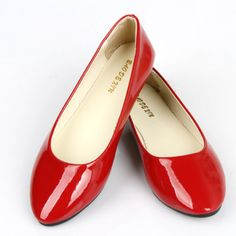 Womens-Candy-Color-Boat-Shoes-Casual-Ballet-Slip-On-Flats-Loafers-Single-Shoes