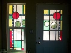 stained glass using tissue paper (major potential!)