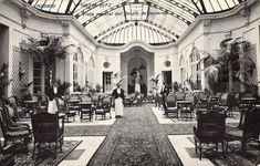 El Jardín de Invierno del Hotel Ritz en 1910. J. Lacoste.- Pasión por Madrid: Los jardines de invierno del Ritz y del Palace