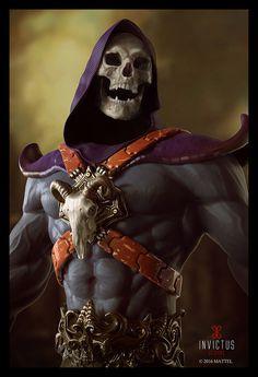 Skeletor by Victor Marin Comic Movies, Comic Books Art, Comic Art, Master Of The Universe, Universe Art, Marvel Dc, He Man Thundercats, Bd Comics, Classic Cartoons