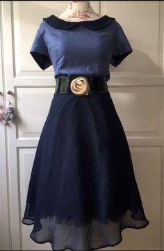 SHE IS ME - Blue dress like 50th