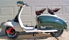 Lambretta LI Series II Scooters Vespa, Lambretta Scooter, Motor Scooters, Mod Scooter, Scooter Girl, Pictures Of Scooters, Scooter Images, Classic Vespa, Races Style