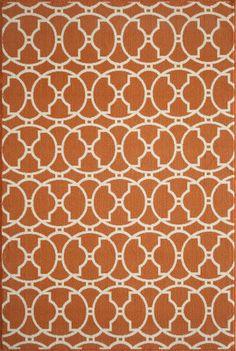 RugStudio presents Momeni Baja Baj11 Orange Area Rug