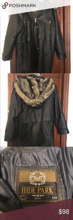 Selling this Beautiful leather coat bought in Canada on Poshmark! My username is: kiwi12010. #shopmycloset #poshmark #fashion #shopping #style #forsale #Jackets & Blazers