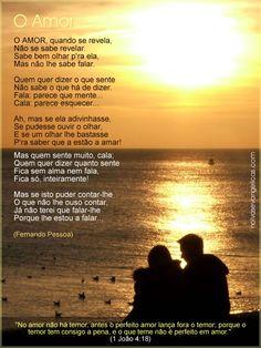 O Amor - Poema de Fernando Pessoa