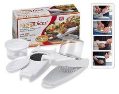 Cortador de alimentos ECO-7750 con cuchillas de acero inoxidable de alta calidad fácil de lavar - YoElijoElPrecio.com