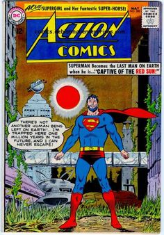 Red Sun - Beard - Superman - Last Man On Earth - No Other Humans - Curt Swan