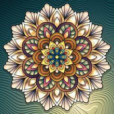 Mandala Artwork, Mandala Drawing, Mandala Painting, Dot Painting, Mandala Tattoo, Mandala Design, Mandala Colour, Motif Art Deco, Mandala Coloring
