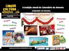 Weihnachtskalender & Advent - Übungen mit Videos zum Deutsch lernen - DaF für Brasilianer- DaZ