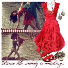 Dance Like Nobody is Watching...., created by musicisair on Polyvore