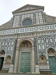 Chiesa di Santa Maria Novella, Firenze Italia (Marzo)
