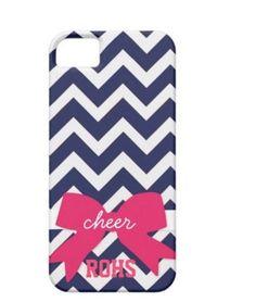 Great homecoming fift for a cheerleader...Custom Cheer Chevron Phone Case by AlyssaCreates, $23.99~ Makayla! Chevron Phone Cases, Cell Phone Cases, Iphone Cases, Cheer Stuff, Cheer Mom, High School Cheer, Cute Cases, Iphone Accessories, Cheerleading