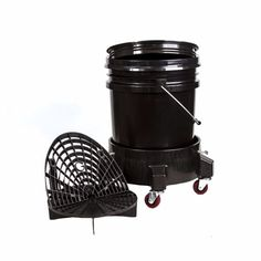 Car Washer Detailing Kit Bucket Dolly, 5 Gallon Bucket, Grit Guard and Seal Lid | eBay