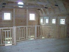 Craftsman Stair Railings | Jim Barna Homes of PA | Galleries | Homes
