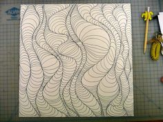 comment dessiner un tableau abstrait Art Optical Design Illusion Kunst, Illusion Drawings, 3d Drawings, Optical Illusions Drawings, How To Draw Illusions, Optical Illusion Art, Arte Linear, Art Plastique, Teaching Art