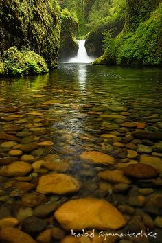 punchbowl falls, columbia river gorge, pacific northwest, usa