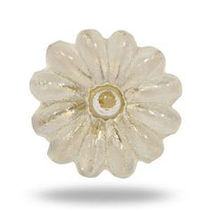 Clear Flower Cabinet Hardware Unique Glass Knob for by TrincaFerro