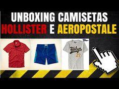 Unboxing - Camisetas Hollister e Aeropostale Fornecedor Oficial
