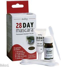 GODEFROY 28 MASCARA (BROWN) 28 Day Mascara is a non-toxic formula that contains no coal tar derivatives or hydrogen peroxide agents. This fast acting, gentle formula does not damage the eyelashes and