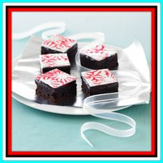 Peppermint-topped Brownies Recipe - Digital Delivery - {49 Credits the Recipe Could be yours}