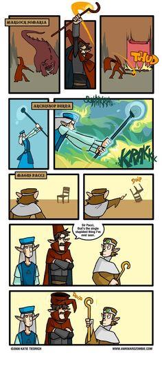 AWKWARD ZOMBIE - Overstaffed Awkward Zombie, Comic Art, Comic Books, What Goes On, Legend Of Zelda, Dungeons And Dragons, Funny Stuff, Random Stuff, Video Games