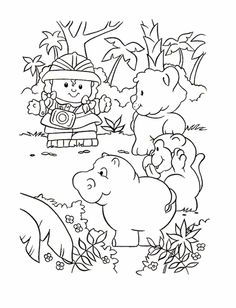 Little People Coloring Pages 26 - Free Printable Coloring Pages…