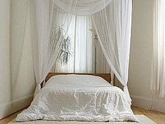 Wonderful White Bedroom Design - One of the popular and stylish bedroom design is wonderful white bedroom design. Having wonderful white Bedroom design does not mean that you could not combine it with another colors. White Bedroom Design, White Bedroom Decor, Romantic Bedroom Decor, White Bedroom Furniture, Bedroom Colors, Bedroom Ideas, White Bedrooms, Peaceful Bedroom, Bed Ideas