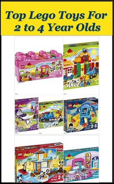 These Lego toys for 2 to 4 year olds were taken from the Amazon Holiday Toy List. These toys introduce your child to Lego building bricks and will provide hours of fun and entertainment.