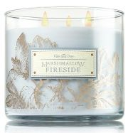 "3 mèches  BATH&BODYWORKS ""MARSMALLOW FIRESIDE"""