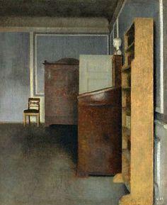 Vilhelm Hammershoi  Interior, Strandgade 30  1905