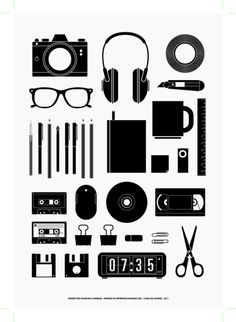 Minimalism, typography + modernism. Most importantly, #organized.