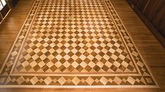 2014 NWFA Wood Floor of the Year for Best Restoration | Brookens Wood Floors Inc. (Springfield, Ill.)