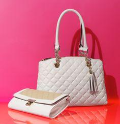 Speak to her love of polished designs, Calvin Klein
